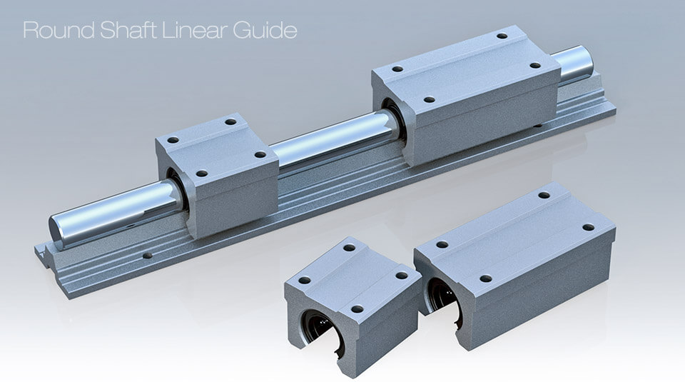 Round Linear Guide Anticorrosive Linear Guide